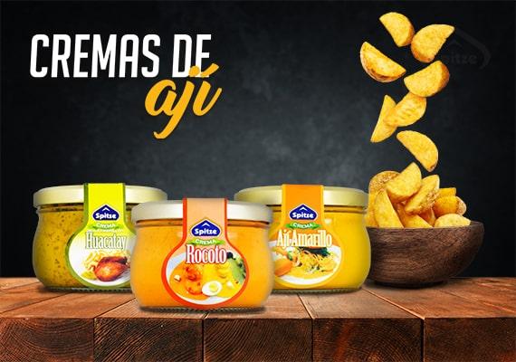 Cremas De Ají Spitze