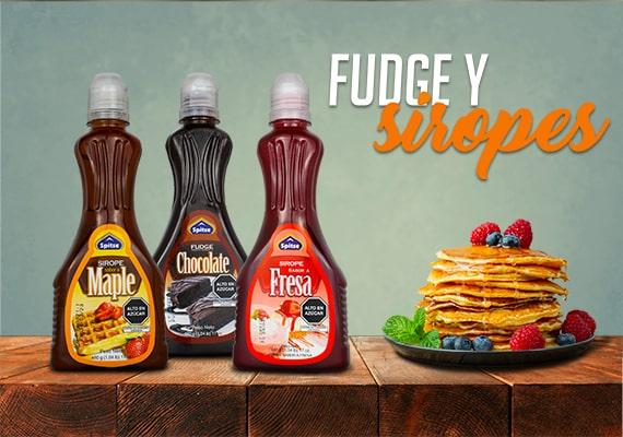 Siropes y Fudge Spitze